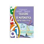 Culegere de matematica pt. clasa a VIII-a