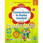 Planificare pentru manualul de Comunicare în limba română, clasa I