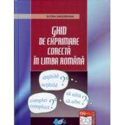 Ghid de exprimare corectă în limba română