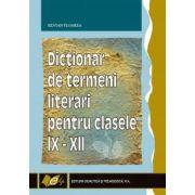 Dicţionar de termeni literari pentru clasele IX-XII