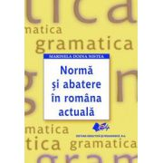 Normă şi abatere în româna actuală
