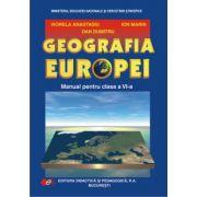 Geografia Europei, manual pentru clasa a VI-a