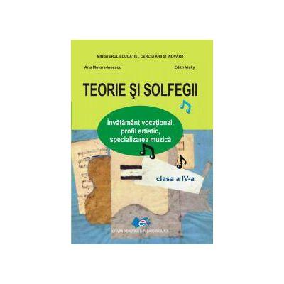 Teorie şi solfegii, manual pentru clasa a IV-a