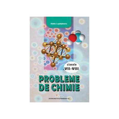 Probleme de chimie clasele VII-VIII