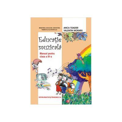 Educaţie muzicală, manual pentru clasa a III-a