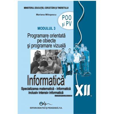 Informatica XII modulul 3 POO şi PV