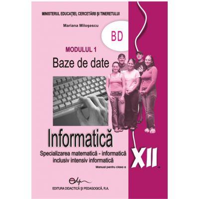 Informatica XII modulul 1 BD
