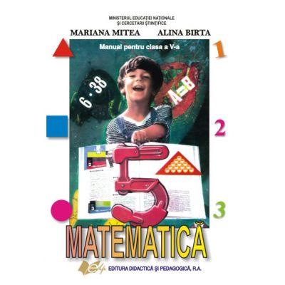 Matematica manual pentru clasa a V-a