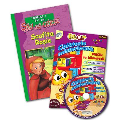 Scufiţa Roşie + CD Călătorie Misterioasă