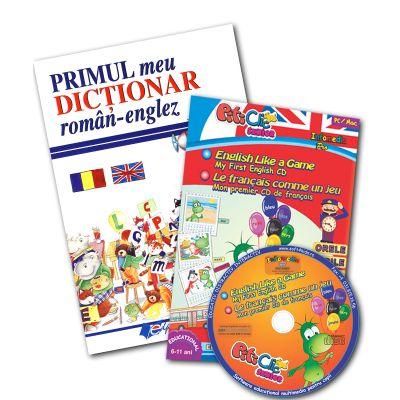 Primul meu dicţionar roman-englez + CD Engleză/Franceză (partea 1)