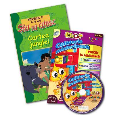 Cartea junglei + CD Călătorie Misterioasă