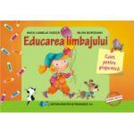 Educarea limbajului – caiet pentru grupa mică