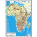 AFRICA – HARTA FIZICĂ • AFRICA – HARTA POLITICĂ (faţă-verso)