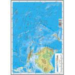 AUSTRALIA ŞI OCEANIA – HARTA FIZICĂ ŞI POLITICĂ   •    ARCTICA ŞI ANTARCTICA – HARTA FIZICĂ