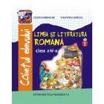 Caiet de Limba si Literatura Romana cls. a-lV-a semestrul l