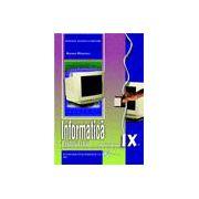 Informatică, manual pentru clasa a IX-a - Profilul real- intensiv informatica C++ (specializarea matematică-informatică intensiv)