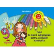 Caiet de munca independenta pentru activitatile matematice grupa mare niv II 5-6 ani