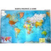 HARTA POLITICĂ A LUMII Scara 1: 22 000 000