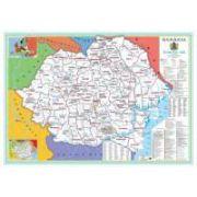 Harta Romaniei in anii 1918-1940