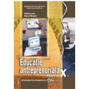 Educaţie antreprenorială, manual pentru clasa a X-a