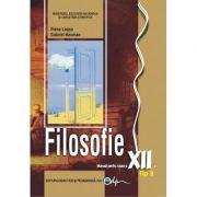 Filosofie, tip B, manual pentru clasa a XII-a
