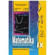 Matematika • Törzsanyag és differenciált tanterv • Tankönyv a IX. osztály számára