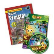 Viaţa în preistorie + CD Piticlic şi dinozaurii isteţi