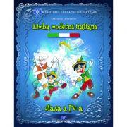 LIMBA MODERNĂ ITALIANĂ-Manual pentru clasa a IV-a
