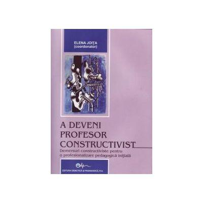 A deveni profesor constructivist