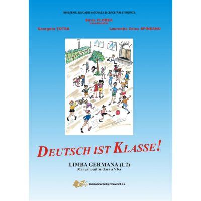 Limba germana, manual pentru clasa a VI-a (L2) Deutsch ist Klasse!