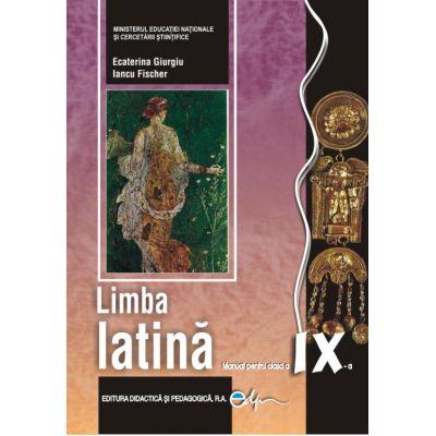 Limba latină, manual pentru clasa a IX-a
