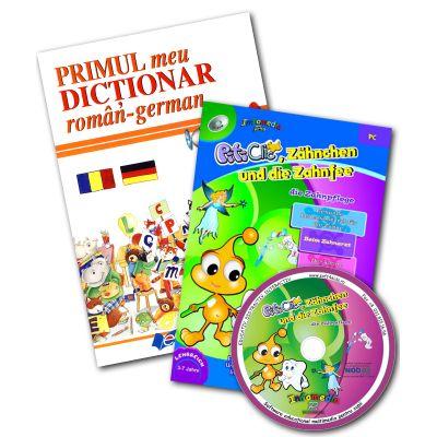 Primul meu dicţionar roman-german + CD Dinţişor şi Zâna Măseluţa (germ)