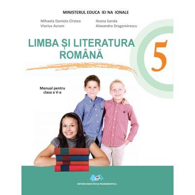 Limba şi literatura română: manual pentru clasa a V-a