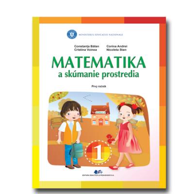 MATEMATICA ȘI EXPLORAREA MEDIULUI-Manual în limba slovacă pentru clasa I