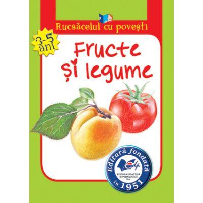 Rucsăcelul cu povești-Fructe și legume(3-5ani)