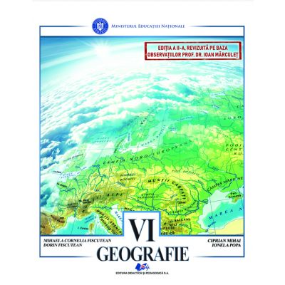 GEOGRAFIE - Manual pentru clasa a VI-a