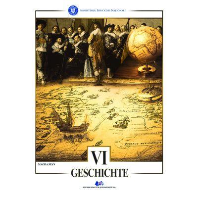 ISTORIE - Manual în limba germană pentru clasa a VI-a