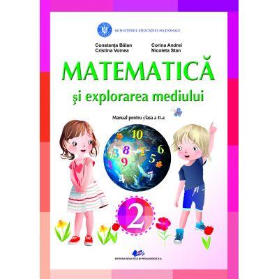 MATEMATICA ȘI EXPLORAREA MEDIULUI- Manual pentru clasa a II-a-CONSTANTA BALAN