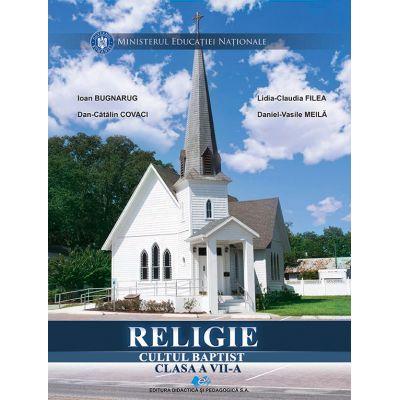 RELIGIE CULTUL BAPTIST-Manual pentru clasa a VII-a