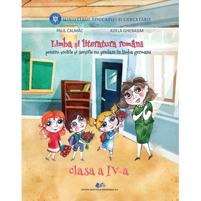 LIMBA ȘI LITERATURA ROMÂNĂ PENTRU ȘCOLILE ȘI SECȚIILE CU PREDARE ÎN LIMBA GERMANĂ-Manual pentru clasa a IV-a